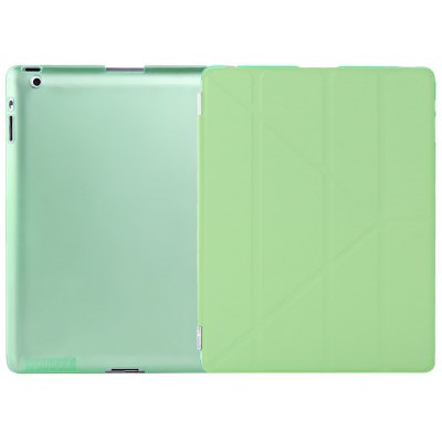 Ultra Slim PU Leather Smart Sleep Cover for iPad 2 / 3 / 4
