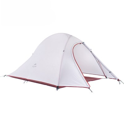 2 Person Outdoor Lightweight Camping Tent Kit Soft Silicone Anti-pest Rain-proof with Carry Bag