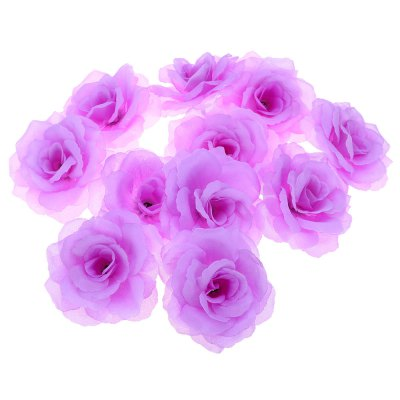 50pcs Artificial Roses Decorative Flowers