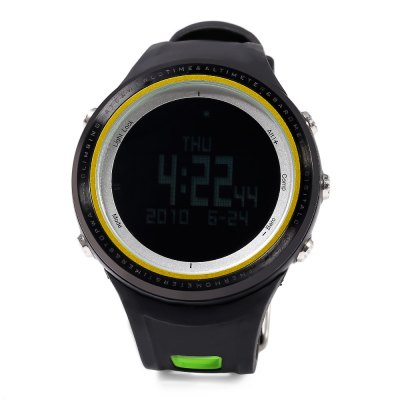 SUNROAD FR800NB Multifunctional Digital Sports WatchSports Watches<br>SUNROAD FR800NB Multifunctional Digital Sports Watch<br><br>Band Length: 8.27 inch<br>Band Material Type: Rubber<br>Band Width: 22mm<br>Case material: Stainless Steel<br>Case Shape: Round<br>Clasp type: Pin Buckle<br>Dial Diameter: 1.89 inch<br>Dial Display: Digital<br>Dial Window Material Type: Glass<br>Feature: Alarm,Altimeter,Back Light,Chronograph,Compass,Fitness Tracker,Led Display,Luminous<br>Gender: Men<br>Movement: Digital<br>Style: Sport<br>Water Resistance Depth: 50m<br>Product weight: 0.080 kg<br>Package weight: 0.255 kg<br>Product Size(L x W x H): 26.00 x 5.00 x 1.50 cm / 10.24 x 1.97 x 0.59 inches<br>Package Size(L x W x H): 10.50 x 10.50 x 8.50 cm / 4.13 x 4.13 x 3.35 inches<br>Package Contents: 1 x SUNROAD FR800NB Sports Watch, 1 x Chinese and English Manual, 1 x Cloth, 1 x Button Cell