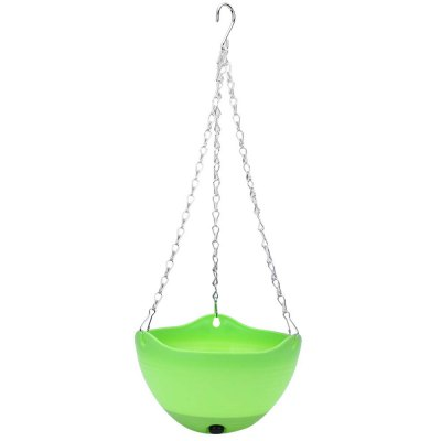 5pcs Hanging Flower Pot Chain Planter Basket