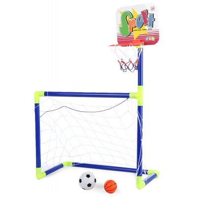Children Basketball Football 2 in 1 Sports Toy