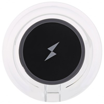 Crystal Round Shape Qi Wireless Charger