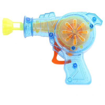 Kids Colorful Gun Bubble Machine with LED Light