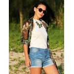 best Women Jewel Collar Pure Color Knitted Blouse