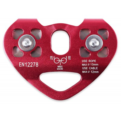 Zipline Heart-shaped Cable Trolley Speed Pulley