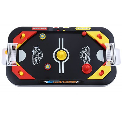 2-in-1 Kids Fast Action Soccer Puck Hockey Game