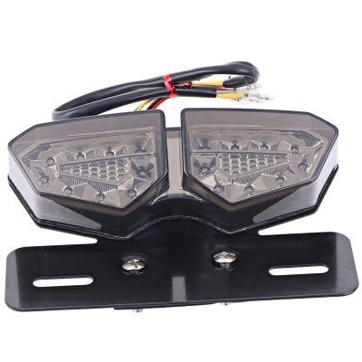 20 LEDs 12V Motorcycle Integrated Taillight