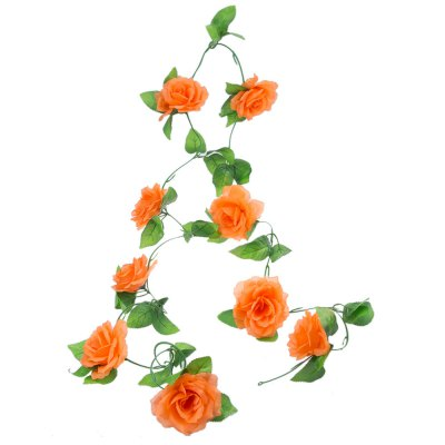 Decorative Wreaths Flowers Vine Garland Leaf