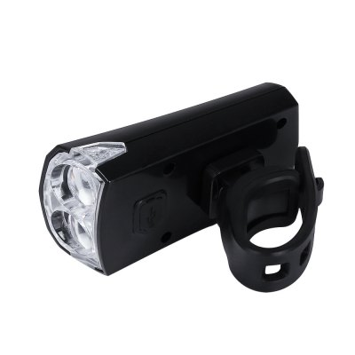Bike 2 LEDs Safety USB Rechargeable Bright Front Head LightBike Lights<br>Bike 2 LEDs Safety USB Rechargeable Bright Front Head Light<br><br>Mounting Placement: Frame<br>Power Supply: Battery<br>Product weight: 0.037 kg<br>Package weight: 0.102 kg<br>Product Size(L x W x H): 8.20 x 4.30 x 2.60 cm / 3.23 x 1.69 x 1.02 inches<br>Package Size(L x W x H): 15.00 x 10.00 x 3.00 cm / 5.91 x 3.94 x 1.18 inches<br>Package Contents: 1 x Front Light, 1 x Adjustable Strap, 1 x USB Cable