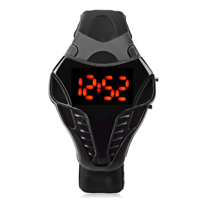 MAIKOU Men LED Digital Sports WatchSports Watches<br>MAIKOU Men LED Digital Sports Watch<br><br>Band Length: 8.25 inch<br>Band Material Type: Rubber<br>Band Width: 18 mm<br>Case material: Plastic<br>Case Shape: Irregular Shape<br>Clasp type: Pin Buckle<br>Dial Diameter: 1.65 inch<br>Dial Display: Digital<br>Dial Window Material Type: Plastic<br>Gender: Men<br>Movement: Digital<br>Style: Simple,Sport<br>Water Resistance Depth: 10m<br>Product weight: 0.032 kg<br>Package weight: 0.053 kg<br>Product Size(L x W x H): 24.50 x 4.20 x 1.20 cm / 9.65 x 1.65 x 0.47 inches<br>Package Size(L x W x H): 25.50 x 5.20 x 2.20 cm / 10.04 x 2.05 x 0.87 inches<br>Package Contents: 1 x MAIKOU LED Digital Watch