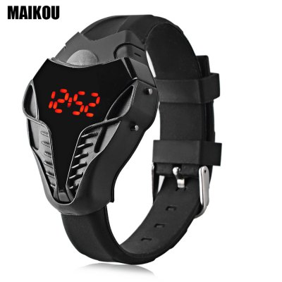 MAIKOU Men LED Digital Sports Watch