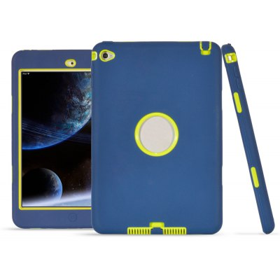 PC Tablet Case Silicone Warp-around Cover for iPad Mini 4