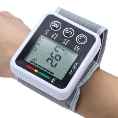 Automatic Arm Blood Pressure Pulse Monitor Health Care