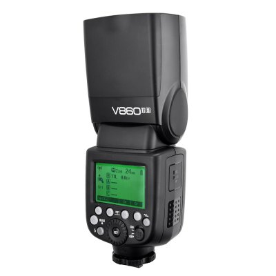 Godox V860IIS 2.4G Wireless Camera Flashlight for SonyPhotography Accessories<br>Godox V860IIS 2.4G Wireless Camera Flashlight for Sony<br><br>Product weight: 0.430 kg<br>Package weight: 1.070 kg<br>Product Size(L x W x H): 6.50 x 7.50 x 19.00 cm / 2.56 x 2.95 x 7.48 inches<br>Package Size(L x W x H): 23.00 x 21.00 x 7.50 cm / 9.06 x 8.27 x 2.95 inches<br>Package Contents: 1 x Godox V860IIS Flash, 1 x Battery, 1 x Power Cord, 1 x Mini Stand, 1 x Bag