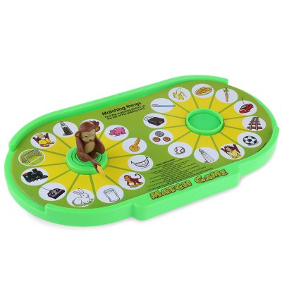 Children Monkey Match Game ToyOther Educational Toys<br>Children Monkey Match Game Toy<br><br>Age Range: &gt; 3 years old<br>Gender: Unisex<br>Material: Plastic<br>Product weight: 0.270 kg<br>Package weight: 0.392 kg<br>Package Size(L x W x H): 38.00 x 22.00 x 5.00 cm / 14.96 x 8.66 x 1.97 inches<br>Package Contents: 1 x Matching Toy Set