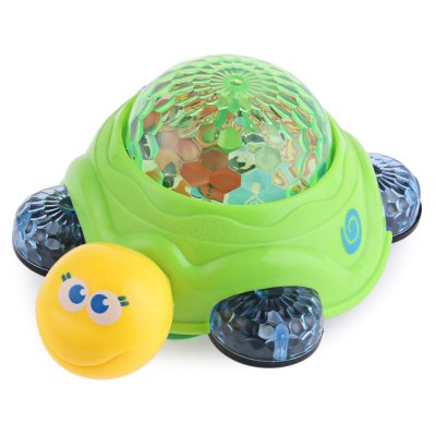Children Electric Music Turtle Toy