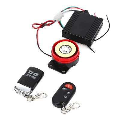 Anti-theft Motorcycle Security Remote Control Driving Alarm System