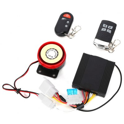 Anti-theft Motorcycle Remote Start Driving Vibration Alarm System