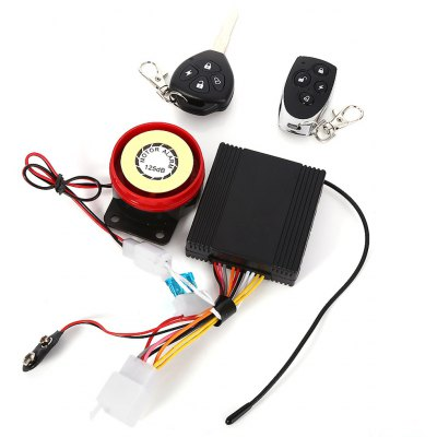 Anti-theft Motorcycle Security Driving Alarm System