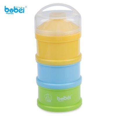 Bobei Elephant 3 Boxes Powdered Milk Storage Box