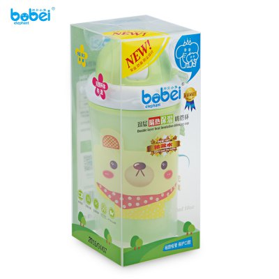 Bobei Elephant  Kids Cute Cartoon Printed Water BottleFeeding<br>Bobei Elephant  Kids Cute Cartoon Printed Water Bottle<br><br>Item Type: Bottles<br>Material: PP/Plastic<br>Shape/Pattern: Animal<br>Mouth Size: Big Mouth<br>Product weight: 0.150 kg<br>Package weight: 0.198 kg<br>Product size (L x W x H): 7.00 x 6.00 x 17.50 cm / 2.76 x 2.36 x 6.89 inches<br>Package size (L x W x H): 8.00 x 8.00 x 18.00 cm / 3.15 x 3.15 x 7.09 inches<br>Package Content: 1 x Bottle