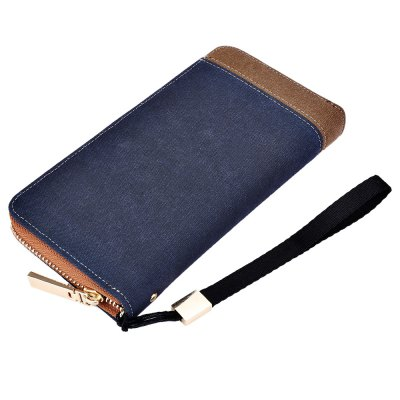 Baellerry Patchwork Canvas Portable Clutch WalletMens Wallets<br>Baellerry Patchwork Canvas Portable Clutch Wallet<br><br>Closure Type: Zipper<br>Embellishment: Letter<br>Gender: For Men<br>Hardness: Soft<br>Height: 19.7 cm / 7.76 inch<br>Interior: Interior Slot Pocket<br>Length(CM): 10.2 cm / 4.02 inch<br>Main Material: Canvas<br>Package Contents: 1 x Portable Clutch Wallet<br>Package size (L x W x H): 10.70 x 3.00 x 20.20 cm / 4.21 x 1.18 x 7.95 inches<br>Package weight: 0.1990 kg<br>Pattern Type: Patchwork<br>Product weight: 0.1640 kg<br>Strap Length: 13.8 cm / 5.43 inch<br>Style: Fashion<br>Wallets Type: Clutch Wallets<br>Width: 2.5 cm / 0.98 inch