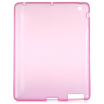 Smooth TPU Back Cover for iPad 2 / 3 / 4