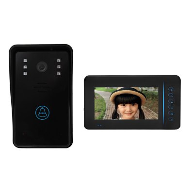 SY815A11 7 Inch TFT Screen Wireless Intercom Doorbell