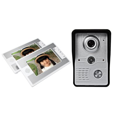 SY812MKW12 7 Inch Night Vision Intercom Doorbell