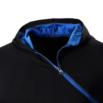 Men Solid Color Inclined Zipper Design Hooded ShirtsMens Short Sleeve Tees<br>Men Solid Color Inclined Zipper Design Hooded Shirts<br><br>Collar: Hooded<br>Fabric Type: Broadcloth<br>Material: Cotton Blends<br>Package Contents: 1 x Shirts<br>Pattern Type: Solid<br>Sleeve Length: Short<br>Style: Casual<br>Weight: 0.2480kg