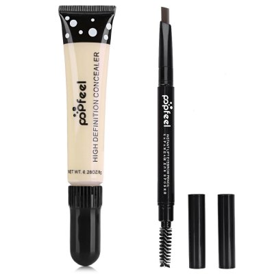 Cover Foundation Concealer + Double Headed Eyebrow Pen