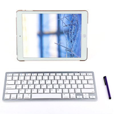 4 in 1 Smart Case with Bluetooth Keyboard for iPad Air 2