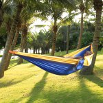 Camping Hammock With Removable Mosquito Net