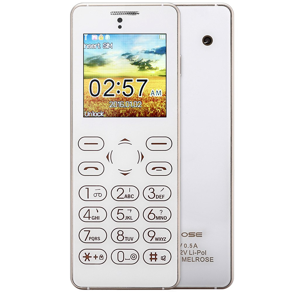 MELROSE T1 Full Touch Card Phone