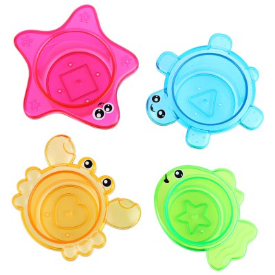 Baby Turtle Squirt Water Bath Toy Set