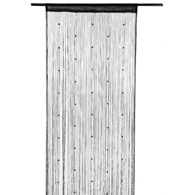 1 x 2m Beaded Line Tassel String Door Curtain