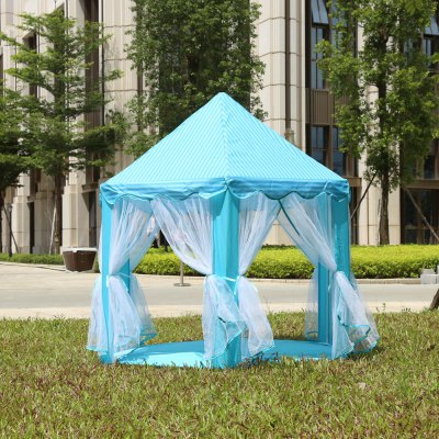 Portable Princess Castle Play Tent Indoor Outdoor Playhouse