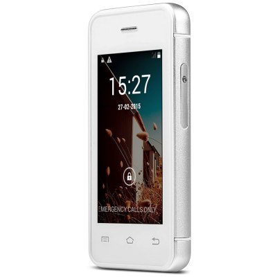 MELROSE S9 Ulta-thin Mini 3G Smart PhoneFeatured Phones<br>MELROSE S9 Ulta-thin Mini 3G Smart Phone<br><br>Battery Capacity(mAh): 1050mAh<br>Battery Type: Not Detachable<br>Camera type: 1 Camera<br>Cellular: GSM/WCDMA<br>CPU: Dual Core<br>CPU Manufacturer: MTK<br>Design: Rotatable<br>Display resolution: 480X320<br>Display size: 2.4<br>Feature: Bluetooth,GPRS,Message,MP3 Playback,Touchscreen,Wi-Fi<br>Item Condition: New<br>Operation System  : Android<br>RAM: 512M<br>ROM: 4G<br>Product weight: 0.052 kg<br>Package weight: 0.236 kg<br>Product Size(L x W x H): 8.50 x 4.20 x 1.00 cm / 3.35 x 1.65 x 0.39 inches<br>Package Size(L x W x H): 14.10 x 8.00 x 6.00 cm / 5.55 x 3.15 x 2.36 inches<br>Package Contents: 1 x Cell Phone, 1 x Power Adapter, 1 x USB Cable, 1 x Earphone, 1 x Screen Protector, 1 x Protection Case, 1 x Screw Driver, 2 x Screw