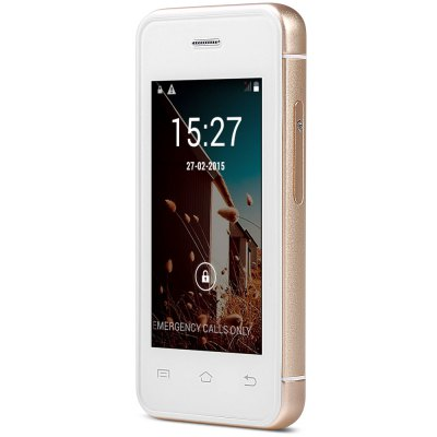 MELROSE S9 Ulta-thin Mini 3G Smart PhoneMELROSE S9 Ulta-thin Mini 3G Smart Phone<br><br>Battery Capacity(mAh): 1050mAh<br>Battery Type: Not Detachable<br>Camera type: 1 Camera<br>Cellular: GSM/WCDMA<br>CPU: Dual Core<br>CPU Manufacturer: MTK<br>Design: Rotatable<br>Display resolution: 480X320<br>Display size: 2.4<br>Feature: Bluetooth,GPRS,Message,MP3 Playback,Touchscreen,Wi-Fi<br>Item Condition: New<br>Operation System  : Android<br>RAM: 512M<br>ROM: 4G<br>Product weight: 0.052 kg<br>Package weight: 0.236 kg<br>Product Size(L x W x H): 8.50 x 4.20 x 1.00 cm / 3.35 x 1.65 x 0.39 inches<br>Package Size(L x W x H): 14.10 x 8.00 x 6.00 cm / 5.55 x 3.15 x 2.36 inches<br>Package Contents: 1 x Cell Phone, 1 x Power Adapter, 1 x USB Cable, 1 x Earphone, 1 x Screen Protector, 1 x Protection Case, 1 x Screw Driver, 2 x Screw