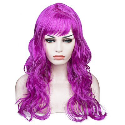Women Long Big Wavy Hair Wigs Cosplay Party Costume