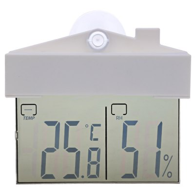 TS - H220 LCD Display Digital Thermometer for Indoor Outdoor Use