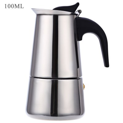 Stainless Steel Mocha Espresso Percolator Coffee Pot