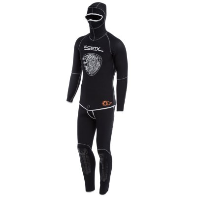 SLINX 1301 Men 5MM Two-piece Diving Suit with Headgear