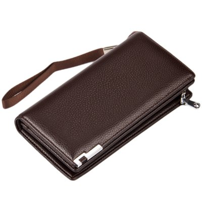 Baellerry Lichee Metal Clip Portable Clutch WalletMens Wallets<br>Baellerry Lichee Metal Clip Portable Clutch Wallet<br><br>Wallets Type: Clutch Wallets<br>Gender: For Men<br>Style: Fashion<br>Closure Type: Zipper&amp;Hasp<br>Pattern Type: Solid<br>Main Material: PU Leather<br>Interior: Interior Slot Pocket<br>Embellishment: Letter<br>Strap Length: 16.4 cm / 6.46 inch<br>Height: 19.1 cm / 7.52 inch<br>Width: 3.8 cm / 1.5 inch<br>Length(CM): 9.5 cm / 3.74 inch<br>Product weight: 0.189 kg<br>Package weight: 0.224 kg<br>Package size (L x W x H): 10.00 x 4.30 x 19.60 cm / 3.94 x 1.69 x 7.72 inches<br>Package Contents: 1 x Portable Clutch Wallet