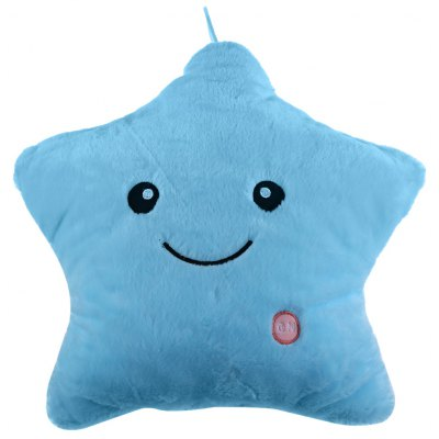 LED Light Star Doll Pillow Toy