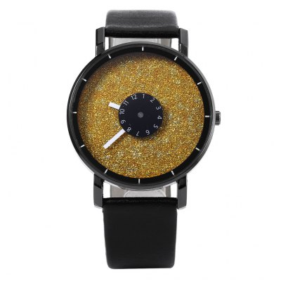 Fashion Unisex Quartz WatchUnisex Watches<br>Fashion Unisex Quartz Watch<br><br>Band Length: 7.99 inch<br>Band Material Type: Leather<br>Band Width: 18mm<br>Case material: Alloy<br>Case Shape: Round<br>Clasp type: Pin Buckle<br>Dial Diameter: 1.61 inch<br>Dial Display: Analog<br>Dial Window Material Type: Glass<br>Gender: Men,Women<br>Movement: Quartz<br>Style: Simple<br>Product weight: 0.034 kg<br>Package weight: 0.055 kg<br>Product Size(L x W x H): 24.50 x 4.20 x 1.00 cm / 9.65 x 1.65 x 0.39 inches<br>Package Size(L x W x H): 25.50 x 5.20 x 2.00 cm / 10.04 x 2.05 x 0.79 inches<br>Package Contents: 1 x Unisex Quartz Watch