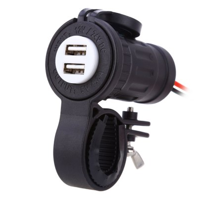 C945 60L Z Dual 4.2A Car Vehicle USB Charger Power Adapter