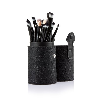 20pcs Cosmetic Makeup Brush with  Black Case