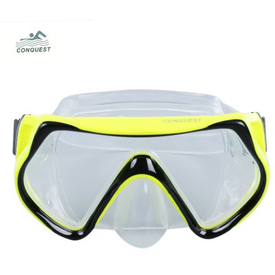 Conquest Adult Anti-fog Adjustable Diving Goggles